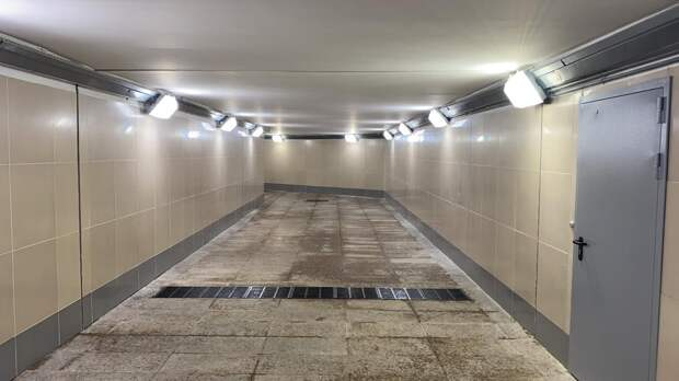 Подземный переход под Лианозовским проездом открылся для пешеходов