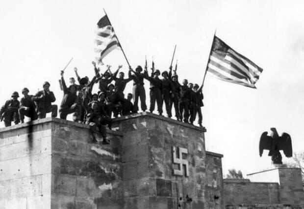 Американские солдаты.