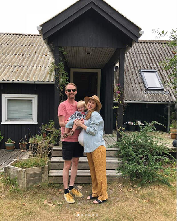 Беременна по-полной: Мама из Копенгагена делится опытом, каково это — носить под сердцем сразу троих детей