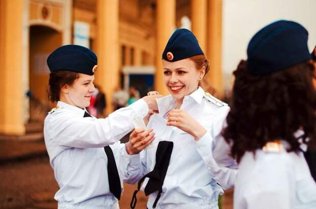 От тайги до британских морей ... : Лица девушек из Российской армии (39)
