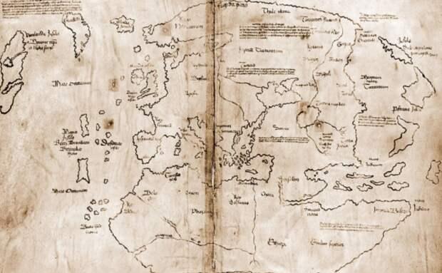 Самая древняя карта Америки оказалась подделкой