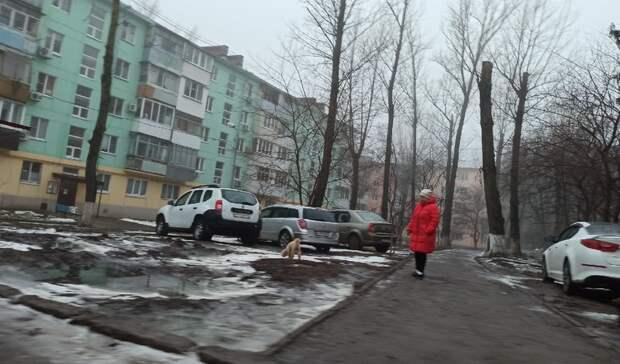 Ростовчане попросили ликвидировать парковку, которую видно изкосмоса