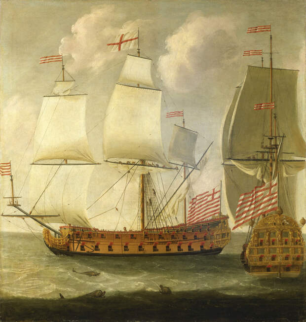Корабли Британской Ост-Индской компании - Великие крейсерские войны. Франция против Аугсбургской лиги   Военно-исторический портал Warspot.ru