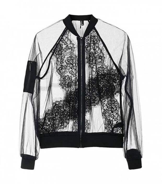 прозрачная куртка