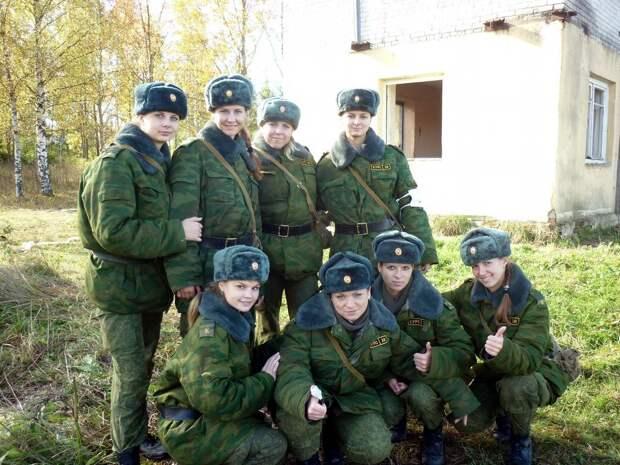 От тайги до британских морей ... : Лица девушек из Российской армии (35)