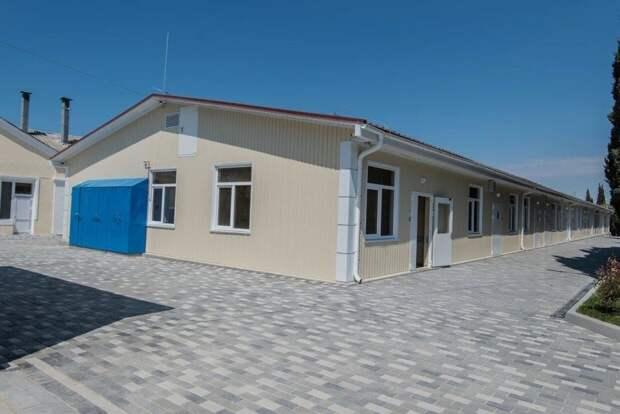 Новый корпус для инфекционки Севастополя построили за месяц
