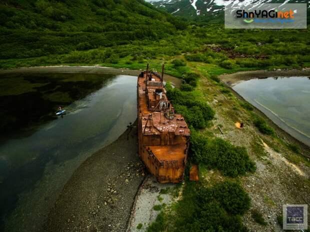 Бухта номер ноль: заброшенный город подводников на Камчатке камчатка, бухта, города, заброшенное, бечевинка, финвал, путешествие