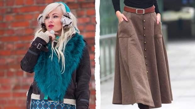 3 теплые и модные юбки, которые подчеркнут женственность хозяйки в холодную погоду