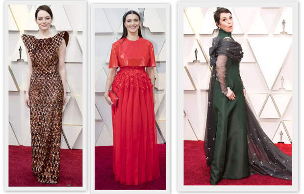 """И снова на [красный] ковер. Оскар-2019: наряды """"фавориток""""."""