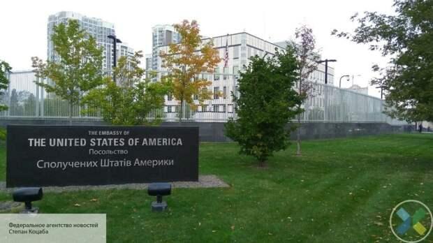 Посольство США ответило на обвинения в управлении Украиной