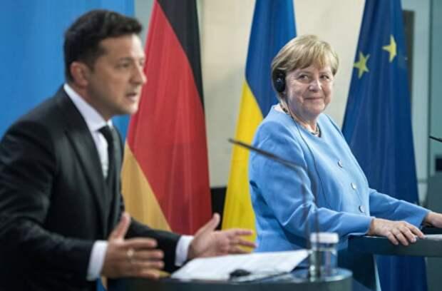 Зеленский и дорога в тысячу ли. О чем канцлер Германии не договорилась с президентом Украины