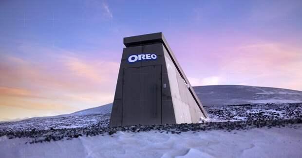 Oreo построил бункер для защиты печенья от астероида. Бренд осваивает жанр мокьюментари