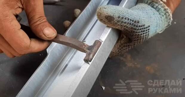 Инструмент для работы с тонколистовым металлом