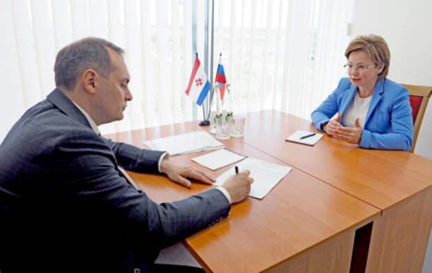 Ольга Ярилова прибыла с рабочей поездкой Республику Мордовия