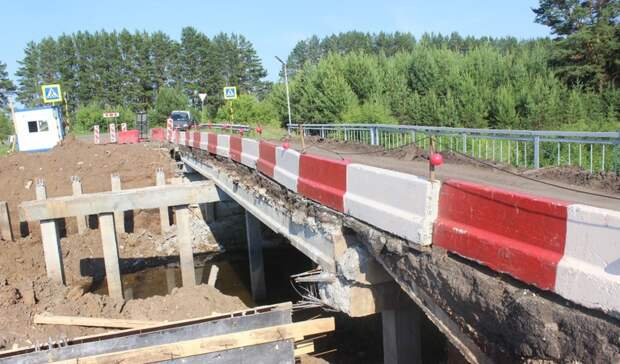 Ремонт моста на дороге Сарапул - граница Татарстана завершат к сентябрю