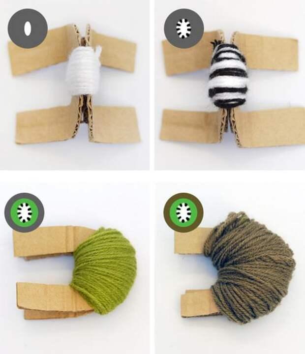 Как сделать декоративные помпоны своими руками