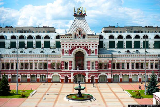 Красоты России. Нижний Новгород летом