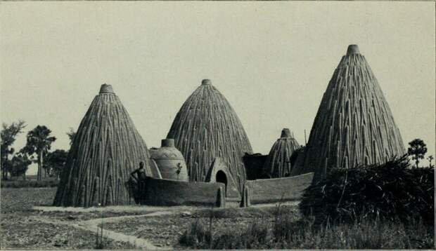 Удивительные шедевры зодчества африканского племени