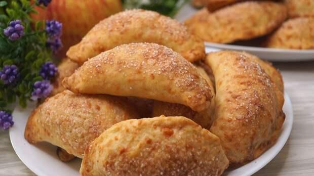 Пирожки из сырного теста Пирожок, Пирожки с яблоком, Рецепт, Видео рецепт, Видео