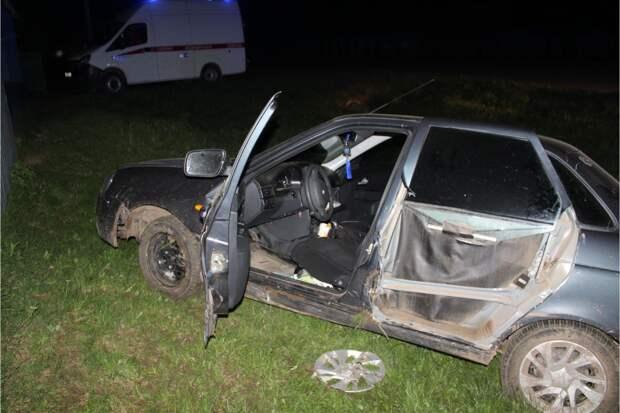 Два человека пострадали в ДТП с пьяным подростком за рулем в Удмуртии