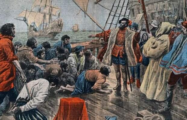 Почему матросы никогда не употребляли в пищу рыбу, пойманную в море