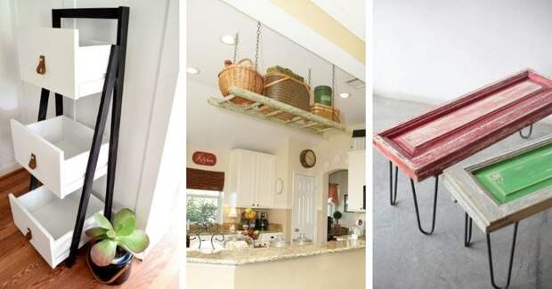 16 идей, как переделать старую мебель в новую и нужную