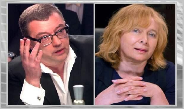 Борис Крюк и Алла Волкова.