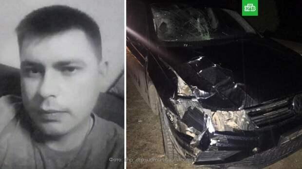 В Удмуртии арестован водитель, насмерть сбивший двух дорожных рабочих