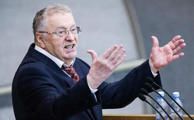 Не жрать, а лечиться: Жириновский предложил ввести ограничения по весу для чиновников