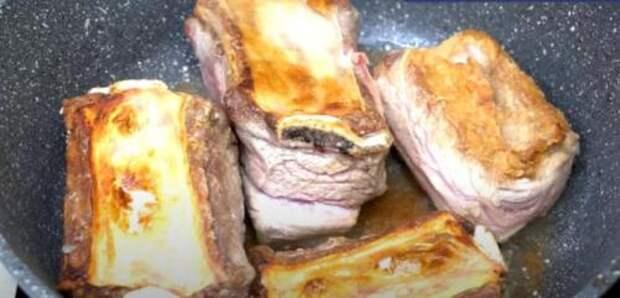Мясо «Томленное»: любое мясо, приготовленное таким способом, получается нежным и тающим во рту