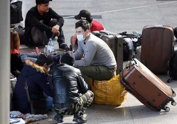 Пассажиры ожидают вылета в международном аэропорту Внуково. Фото: Марина Лысцева/ТАСС
