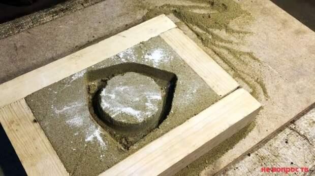 Литье деталей из алюминия в гараже