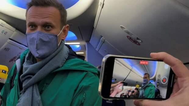 Алексей Навальный пробудет на 140-дневном карантине со дня прибытия в Москву