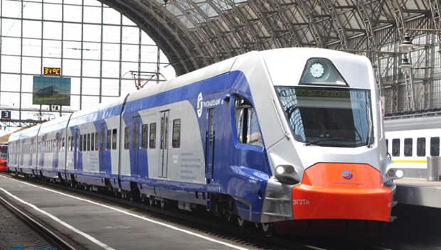 Два поезда МЦД «Иволга» запустили на участке Москва‑Одинцово