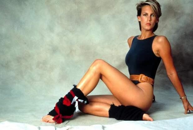 Икона фитнеса 80-х: спортивная исексуальная ДжеймиЛи Кертис