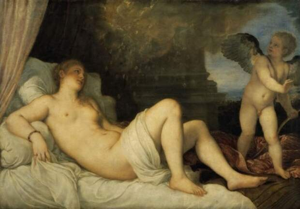 художник Тициан Вечеллио (Tiziano Vecellio) картины – 08