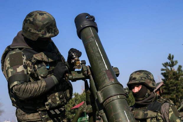 """Украина ищет замену смертельному для своих миномету """"Молот"""""""