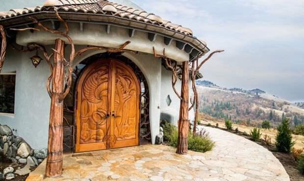 Добро пожаловать в королевство Shining Hand Ranch, Ашленд, штат Орегон oregon, властелин колец, дизайн, дом, мир, толкин, фото