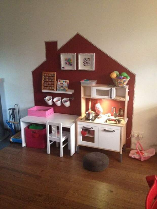 Настенные домики (25 примеров)