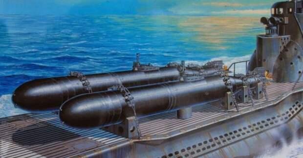 Как действовали японские подводные камикадзе