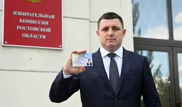 Ростовский депутат Пятибратов подает всуд накомиссию подепутатской этике