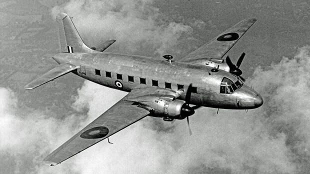 Vickers Valetta prototype VL249 first flight