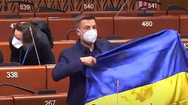 Обвинявшего Россию украинца заставили замолчать в ПАСЕ. Решение встретили аплодисментам