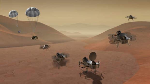 На Титане есть ингредиенты для жизни