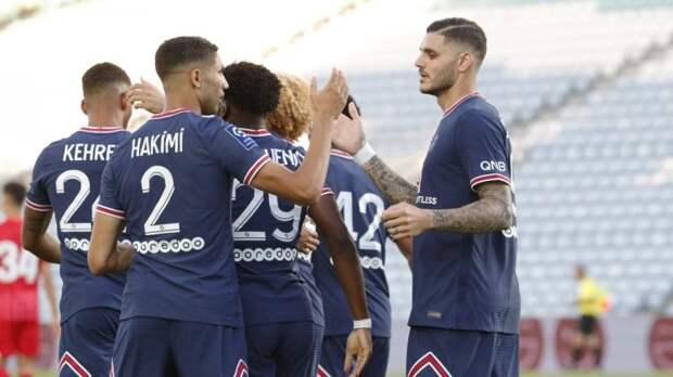 «ПСЖ» сыграл вничью с «Севильей» в товарищеском матче