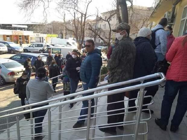 Очереди в Севастополе за разрешением выйти из самоизоляции вынудили Развожаева извиниться