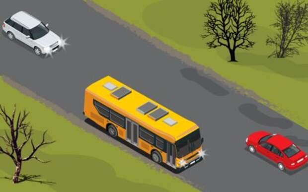 Как не попасть в аварию при обгоне, если нет разметки?