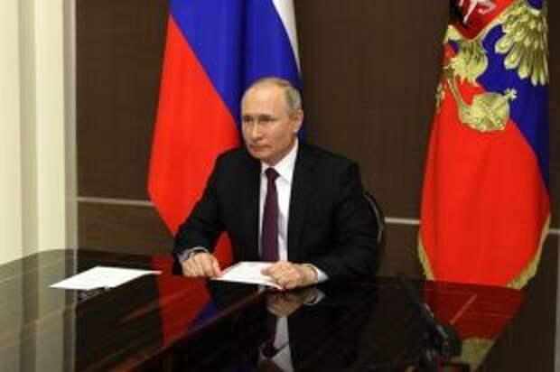 Путин направил поздравления победителям Олимпийских игр в Токио