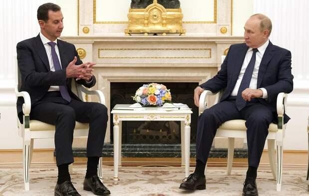 Асад в Кремле