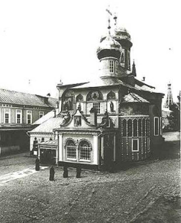Никоновский придел до реставрации.